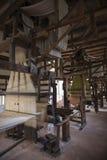 Oud spinnewiel royalty-vrije stock foto