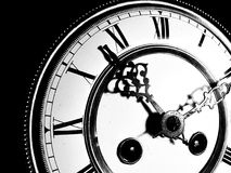 Oud staand horloge Stock Foto