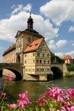 Oud Stadhuis Bamberg Stock Fotografie