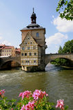 Oud Stadhuis Bamberg Stock Foto's