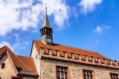 Oud stadhuis in Göttingen Royalty-vrije Stock Foto