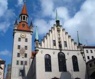 Oud Stadhuis, München, Duitsland Stock Foto's