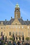 Oud stadhuis van Rotterdam stock foto's