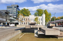 Oud stadhuis van Tilburg, Nederland Royalty-vrije Stock Foto's