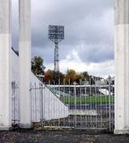 Oud stadion Stock Afbeelding
