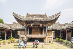 Oud stadium in Chen-zaal Royalty-vrije Stock Fotografie