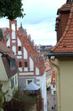 Oud stadsgezicht Duitsland Stock Foto's