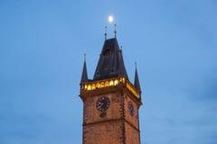Oud Stadsstadhuis in Praag Stock Fotografie