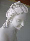 Oud standbeeld Royalty-vrije Stock Foto