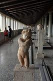 Oud standbeeld van eros Stock Afbeelding
