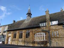 Oud steenhuis in Scherf NOrton Royalty-vrije Stock Foto