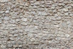 Oud steenmuur en cement Zeer gedetailleerd en echt De steenmuur van Krakau royalty-vrije stock afbeelding