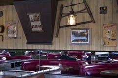 Oud stijlrestaurant Royalty-vrije Stock Afbeelding
