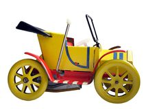 Oud stuk speelgoed Royalty-vrije Stock Afbeelding