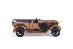 Oud, stuk speelgoed, uitstekende auto Royalty-vrije Stock Fotografie