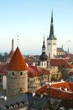 Oud Tallinn Royalty-vrije Stock Afbeelding