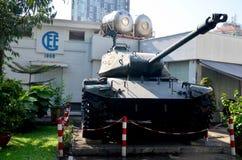 Oud tankleger Royalty-vrije Stock Foto's