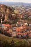 Oud Tbilisi stock fotografie