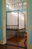 Oud teak houten meubilair Stock Fotografie