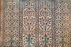 Oud tegelspaneel van Turkije royalty-vrije stock foto's