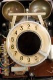 Oud telefoontoestel royalty-vrije stock fotografie