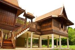 Oud Thais huis Stock Afbeeldingen
