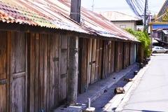 Oud Thais huis Royalty-vrije Stock Foto