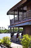 Oud Thais huis Royalty-vrije Stock Fotografie