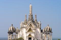 Oud Thais koningspaleis in phetchaburiprovincie, Thailand Royalty-vrije Stock Afbeeldingen