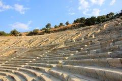 Oud theater Bodrum Turkije Royalty-vrije Stock Foto