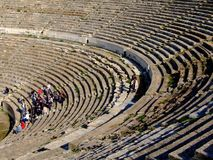 Oud theater Ephesus Royalty-vrije Stock Foto's