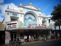 Oud Theater in Key West stock afbeeldingen