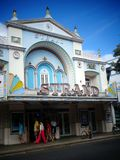 Oud Theater in Key West Royalty-vrije Stock Afbeelding