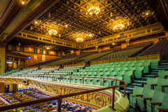 Oud Theater in Londen stock foto