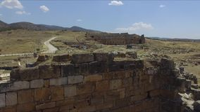 Oud Theater in Pamukkale stock footage