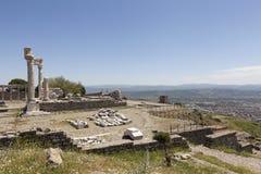 Oud theater Pergamum Turkije royalty-vrije stock foto's
