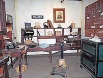 Oud Tijdpostkantoor Stock Foto