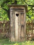 Oud toilet Royalty-vrije Stock Foto's