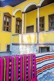 Oud traditioneel Bulgaars huis Royalty-vrije Stock Foto's