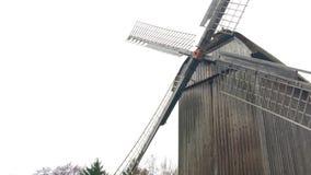 Oud Traditioneel Duits Houten Molenhuis stock footage