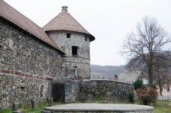 Oud Transilvanian-Kasteel Royalty-vrije Stock Afbeelding