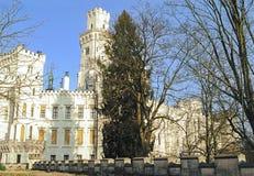 Oud Tsjechisch kasteel Royalty-vrije Stock Foto's