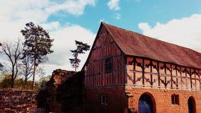 Oud tudorhuis Stock Foto's