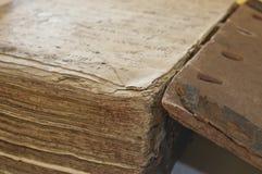 Oud uitgeput boek Stock Afbeeldingen
