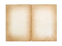 Oud uitstekend blad van document Stock Afbeeldingen