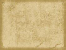 Oud uitstekend document Stock Afbeelding