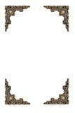 Oud uitstekend frame royalty-vrije stock afbeeldingen
