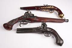 Oud uitstekend kanon Royalty-vrije Stock Fotografie