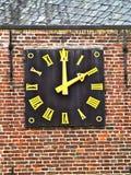 Oud uurwerk royalty-vrije stock afbeelding