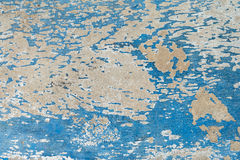 Oud van de stijl uitstekend muur blauw als achtergrond Stock Afbeeldingen